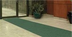 Alimed Aqua Trap Entrance Mat, 3'W x 4'L, Red & Black