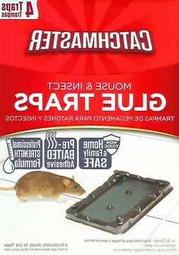 baited mouse glue traps