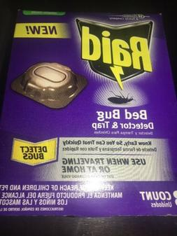 Raid Bed Bug Detector and Trap, Use When Traveling or At Hom