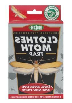 BioCare Non-Toxic Clothes Moth Trap - 2 Complete Traps