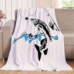 Blanket Comfort Warmth Soft Cozy Air Conditioning Fleece Bla