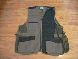 Cabela's 3XL/3XL Reg/Norm Leather Shooting Vest Trap Skeet S