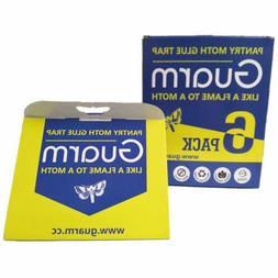 6 Packs Pantry Moth Glue Traps Safe Non-Toxic Pheromone Pest