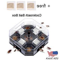 Cockroach Box Killer Catcher Trap Bug Bait Insect Roach Reus