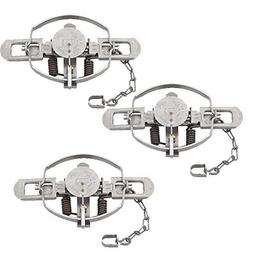 Duke #3 Coil Spring Traps  for Beaver, Bobcat, Coyote, Lynx