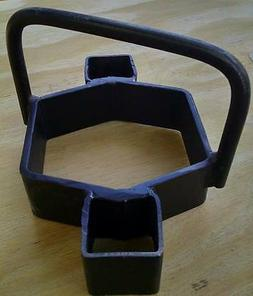 Cookie Cutter Trap Bedder #2: Most #2 square jaw coil spring