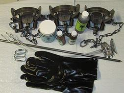FPS 15 Piece Fox & Coyote, Trapping Package kit Animal Contr