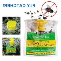 disposable fly trap bag non toxic outdoor