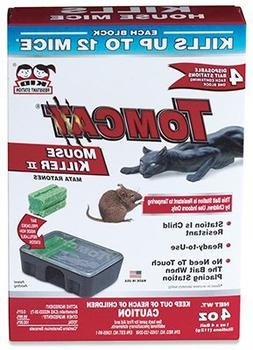 Tomcat Disposable Mouse Bait Station Tier 3 Bromethalin 4 /