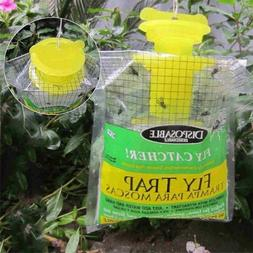 Disposable Plastic Flying Catcher Hanging Bait Bag Mosquito
