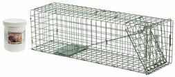 Duke #2 Model 1105 Standard Single Door Cage Trap Value Pack