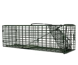 "Duke Live Catch Cage Traps 5""x5""x16"" #1100 Squirrel Rat Chip"