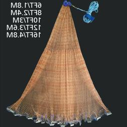 Durable Fishing Cast Net Bait Easy Throw Hand Cast Strong Ti