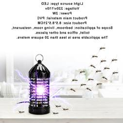 Electric Mosquito Killer Pest Kill Lamp LED Flying Bug Traps