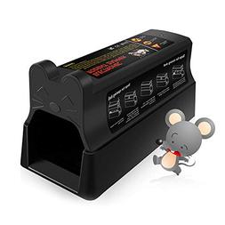 Pestai Electric Rodent Trap, Humane Mouse Zapper - 7000 Volt