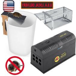 Electronic Mouse Trap Control Rat Killer Pest Electric Zappe