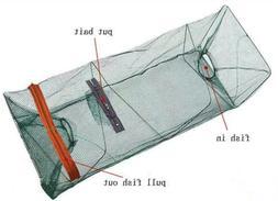 Fish Trap Net  Fishing Gear Crab Prawn Shrimp Crayfish Lobst