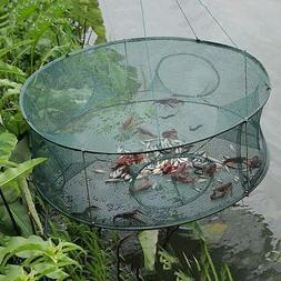 Fishing Trap Net Crab Prawn Shrimp Crayfish Lobster Bel Live