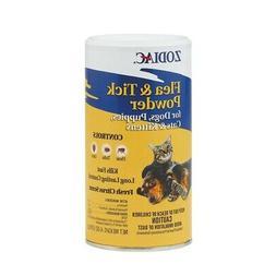 Zodiac Flea & Tick Powder For Dogs & Cats 5oz