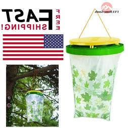 VICTOR Fly Magnet Fly Trap Poison-Free Disposable Insect Bai