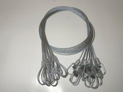 Funke Trap Tags 4' Snare Extension Cable Extender Coyote Bea