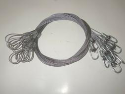 Funke Trap Tags 5' Snare Extension Cable Extender Coyote Bea