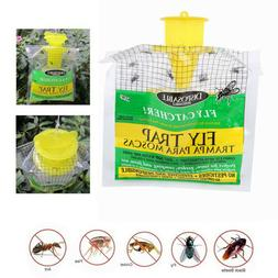 Pest Control Insect Killer Mosquito Trap Hanging Bait Bag Fl