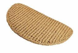 Kempf Half Round Dragon Coco Coir Doormat, 18 by 30 by 1-Inc