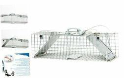 Havahart 1062 Easy Set Two Door Cage Trap for Rabbits, Skunk