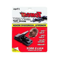 2 Count Mouse Traps Tomcat Heavy Duty Powerful Aggressive De