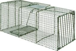 DUKE TRAPS HEAVY DUTY SINGLE DOOR CAGE TRAP, X-LARGE, 36X15X