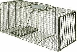 Heavy Duty X-Large Animal Cage Trap w/ Strong Built Door for