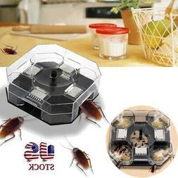 Home Reusable Automatic Cockroach Trap Efficient Bug Catcher