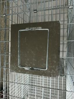 Humane Animal Trap 32x12x12 Steel Cage Live Collapsible Rode