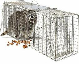 humane animal trap steel cage