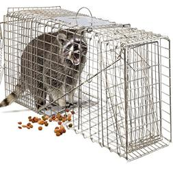 Sawan Shop Humane Animal Trap 32x12x12 Steel Cage Live Roden