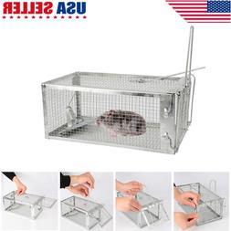 Humane Live Cage Mouse Trap Rat Hamster Catch Control Bait H