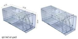 Trapro Humane Rat Cage Trap for Rats Mice Chipmunks and Othe