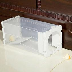Humane Reusable Mouse Trap Safe Live Pest Control Capture Mo