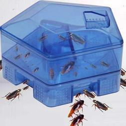 Kitchen Cockroach Traps Box Roach Catcher Killer Bait Effect