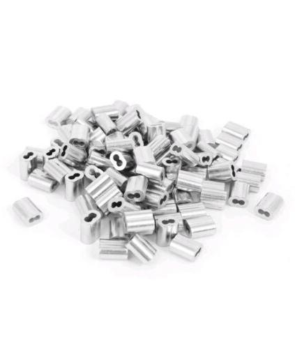 1 16 aluminum double ferrules sleeves traps