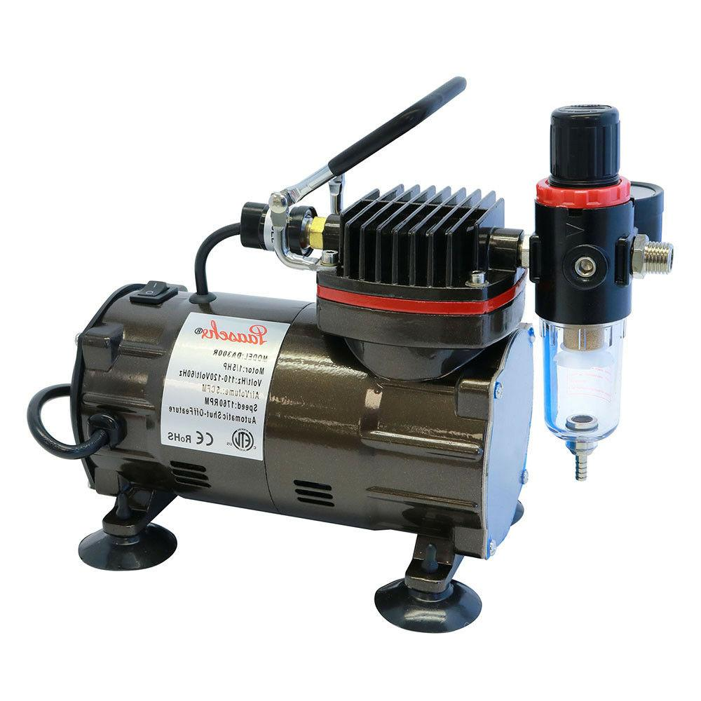 1 5 hp airbrush compressor w regulator