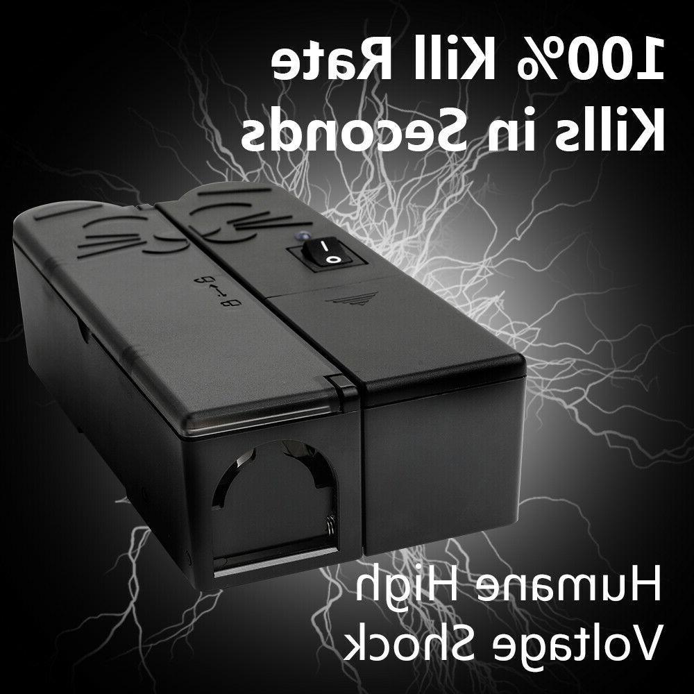 1 pk electronic mouse rat trap electric