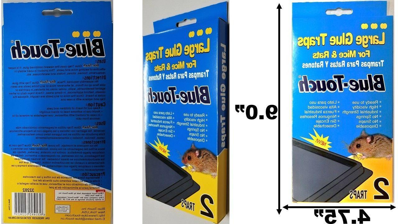 Rat Mice TRAPS Bait Poison Control 5 10