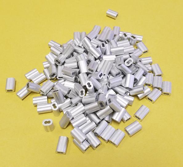 1000 1 16 aluminum double ferrules sleeves