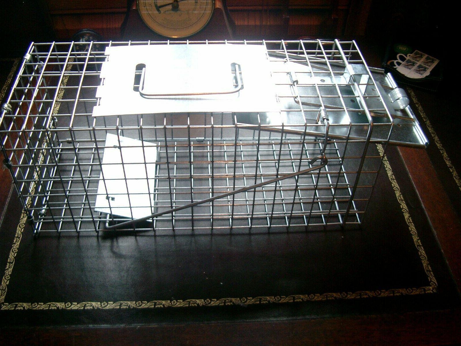 1077 live humane animal cage