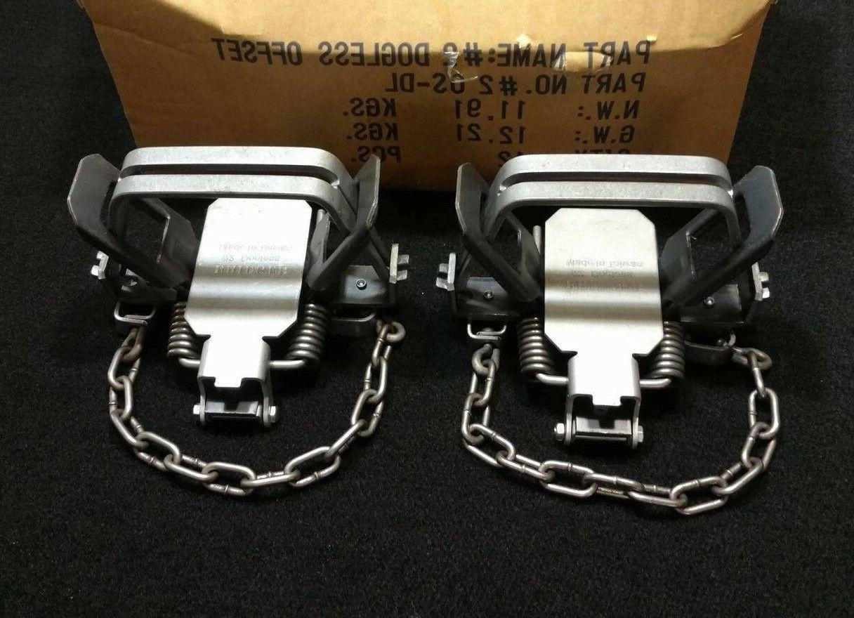 2 2 dogless os trap coil spring