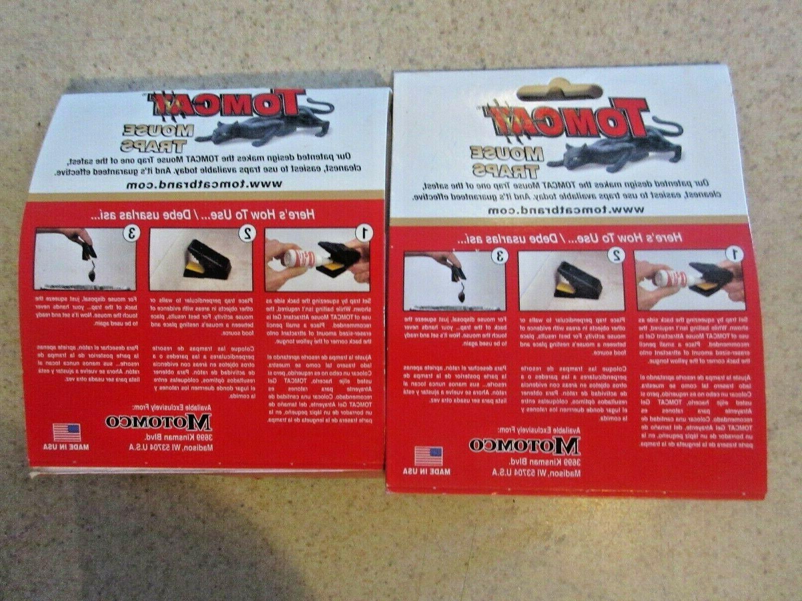 2 Tomcat Traps 2-Pack 4 total