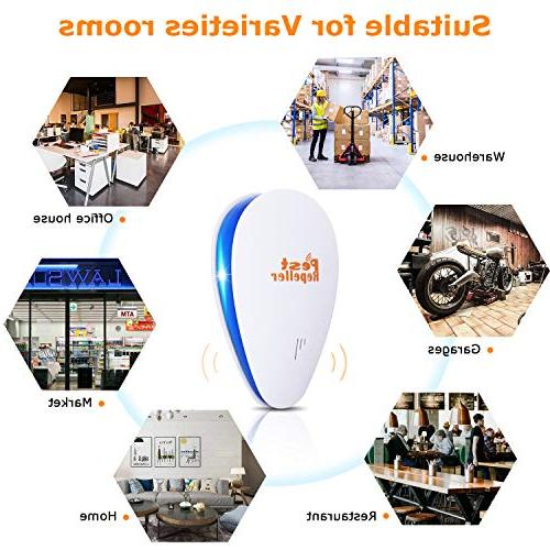 2019 Ultrasonic Repellent Electronic Control for Bugs and Insects Ant Spider Rodent