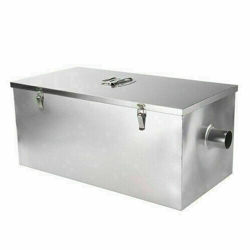 25LB Stainless Steel 13GPM Gallon Per Trap Interceptor